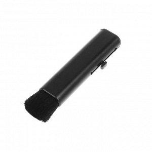 Щетка для чистки труднодоступных мест в салоне, телескопическая 9-12 см, черный