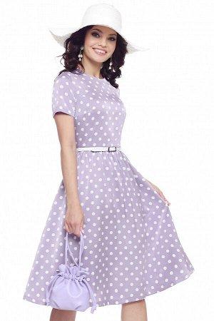 Платье Красотка, сирень