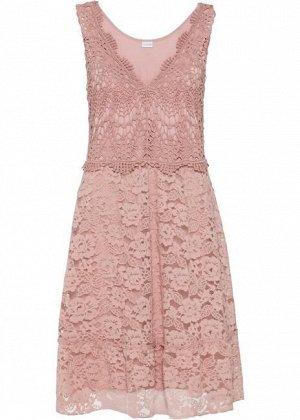 Кружевное платье на 54-56