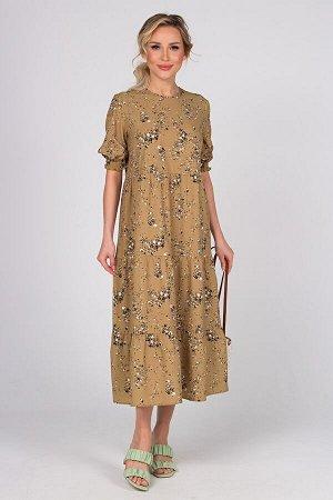 Платье Мэдисон №4.Цвет:оливковый