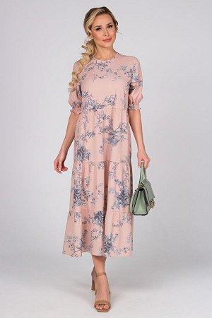Платье Мэдисон №5.Цвет:светло-розовый