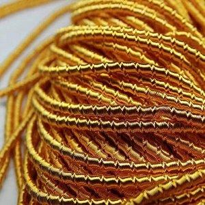 """Трунцал фигурный """"бамбук"""", цвет: оранжевый, размер: 2 мм, 5 грамм"""