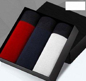 Наборы мужских трусов (3 шт), цвет красный, белый, синий