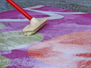 Щётка для мытья ковров