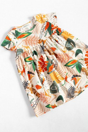 Платье лето Сафари