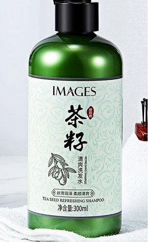 Освежающий шампунь с семенами чая IMAGES, 300мл