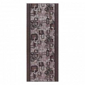 Дорожка ковровая 1594/а2 цвет 100 100х300 см, войлок, ПА 100%
