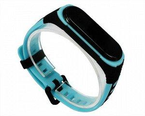 Ремешок Xiaomi Mi Band 5 X-Band голубой #10