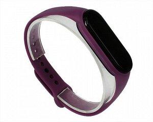 Ремешок Xiaomi Mi Band 5 силиконовый фиолетовый #10