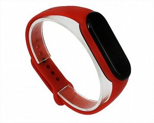 Ремешок Xiaomi Mi Band 5 силиконовый красный #21