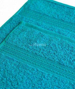Полотенца махровое 70х140 бирюзовое