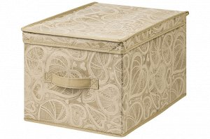 """Короб складной для хранения 30*40*25 см """"Золотое сердце"""" + ручка"""