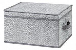 """Короб складной для хранения 35*30*20 см """"Твид"""" + 2 ручки"""