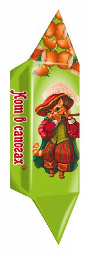 Конфеты «Кот в сапогах» вафельные