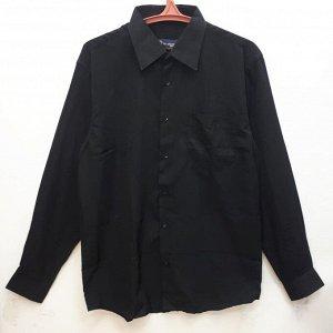 Рубашка мужская чёрная