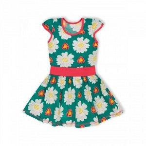 Платье Флора Изумрудный