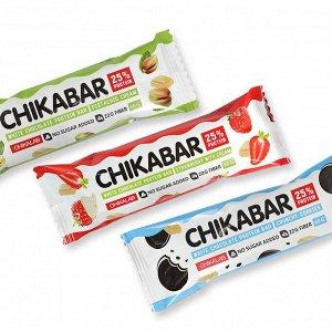 Батончик Chikalab в белом шоколаде, 60 г