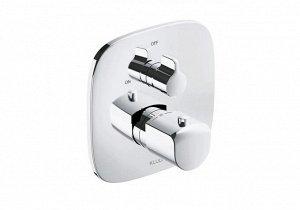 Смеситель 418350575 смеситель для душа с термостатом AMEO встраиваемый в стену (хром) KLUDI AMEO встраиваемый смеситель для душа с термостатом внешняя монтажная часть запорный вентиль переключатель ва