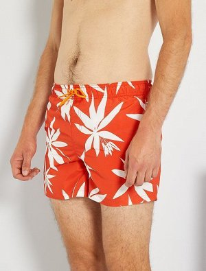 Пляжные шорты с рисунком