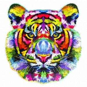 """Пазл из дерева """"Тигр"""""""