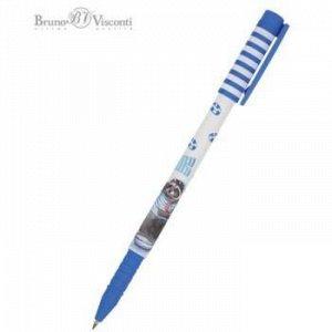 "Ручка шариковая 0.5 мм ""FunWrite.Енот-морячок"" синяя 20-0212/72 Bruno Visconti {Китай}"