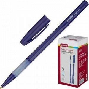 """Ручка шариковая масляная 563882 """"Indigo"""" синяя 0.6мм Attache {Китай}"""
