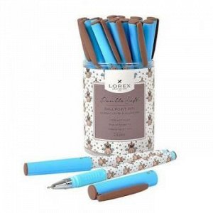"Ручка шариковая масляная 0.7мм ""LOREX ILLEGALLY CUTE.PUG-UNICORN"" синяя LXOPDS-IC2 LOREX {Китай}"
