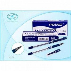 """Ручка шариковая масляная """"PIANO Maxriter"""" 0.5мм синяя PT-335-1152 Piano {Китай}"""
