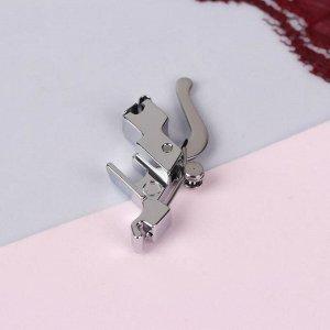 Адаптер для швейных машин с винтовым креплением лапки, цвет серебристый