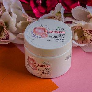 Крем для лица с плацента Ekel Age Recovery Placenta Cream 100 гр