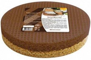 Вафельные коржи для торта двухцветные 120г *20шт 483, шт