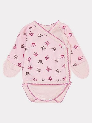 Боди для девочки  Цвет:светло-розовый