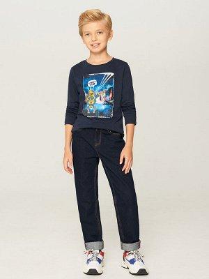 Брюки джинсовые детские для мальчиков Grander-Inf темно-синий