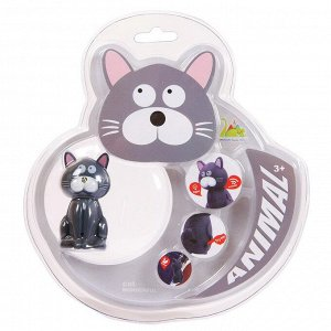 Фигурка мини-животного. Кошечка, световые и звуковые эффекты850
