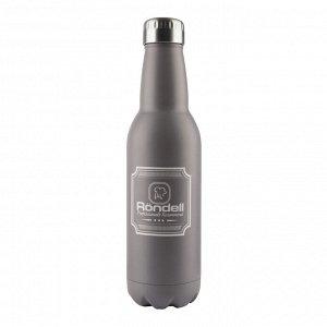 841 Термос 0,75 л Bottle Grey Rondell (GY)