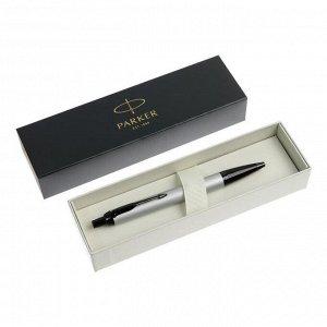 Ручка шариковая Parker IM Achromatic Grey BT нерж сталь, корпус серый мат, синяя 2127752