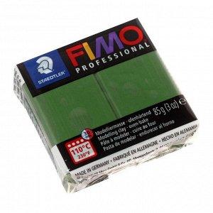 Пластика - полимерная глина FIMO professional, 85 г, зелёный лист