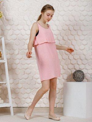 """Платье """"Эльза"""" розовый"""