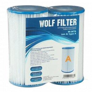 Картридж для очистки воды в бассейнах для фильтрующих насосов INTEX, тип А, 2 шт.