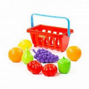 Набор продуктов с корзинкой №2 (9 элементов) (в сеточке)6