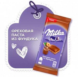 Шоколад Милка мол. с орех.пас фунд/дробл фунд 85г