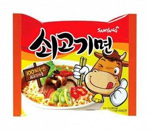 """Лапша со вкусом говядины """"Sogokimyun"""" 120г"""