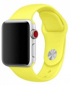Силиконовый ремешок для Apple Watch, 38-40mm