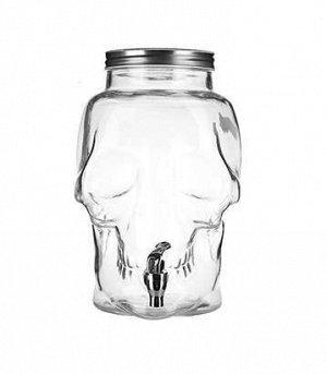 Банка-емкость с краном стекло 8л