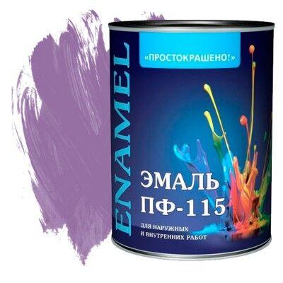 Краски, эмали, антисептики для дерева💯 — Эмаль ПФ-115 Простокрашено