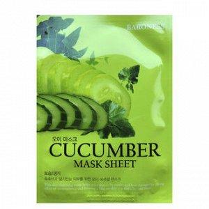 Тканевая маска с Огурцом Baroness Mask Sheet - CUCUMBER(1ea)