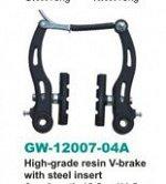 Тормоз в комплекте GAINWAY (GW-12007-04А, сталь, черный) (1/50)