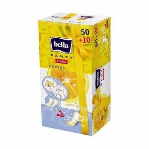 Прокладки Bella ежедневн. Panty Aroma Energy по 50+10 шт.
