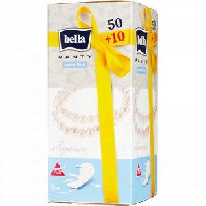 Прокладки Bella ежедневн. Panty Sensitive elegance по 50+10 шт