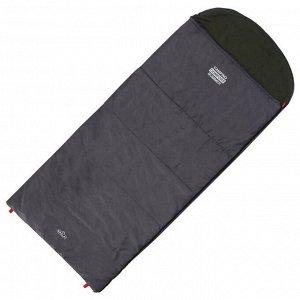 Спальник 2-слойный, L одеяло+подголовник 225 x 100 см, camping comfort summer, таффета/хлопок, +5°C